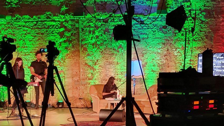 Studioansicht von Wartesaal.TV.