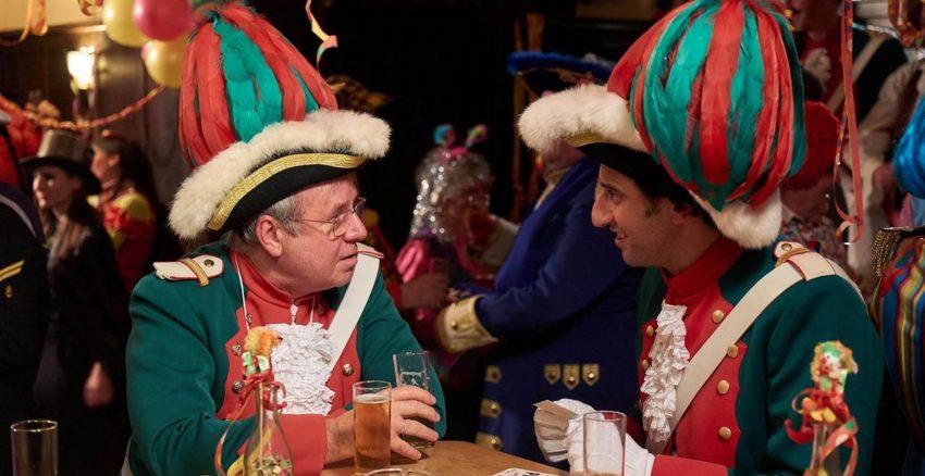 Klüngeln beim Karneval: Joachim Król und Serkan Kaya.