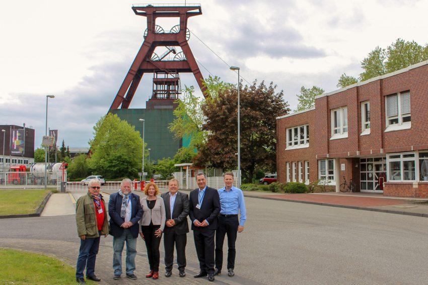 v.l. Ulrich Koch, Volker Bleck, Manuela Lukas, Uwe Plattes, Udo Sobieski und Dr. Frank Eilers