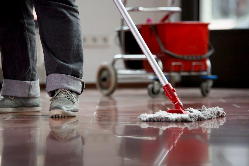 Die meisten befristeten Stellen finden sich unter anderem in der Reinigungsbranche.