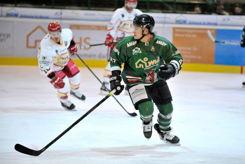 Die Herner Eishockey-Spieler fahren eine 3:5 Heimniederlage gegen die Scorpions ein.
