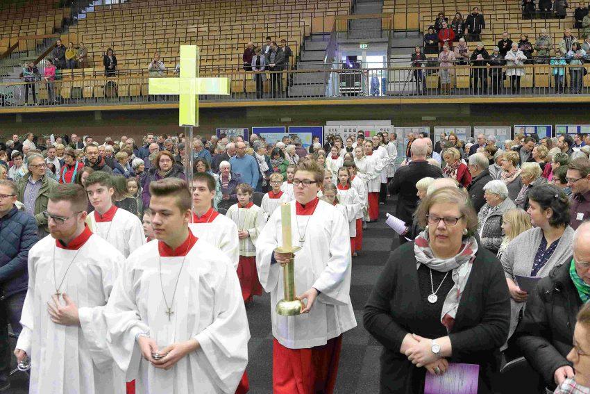 Gründungsfeier St. Christophorus.
