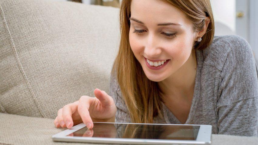 Symbolbild Tablet Computer.