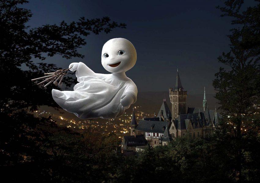 Szenenfoto aus dem Film Das kleine Gespenst.