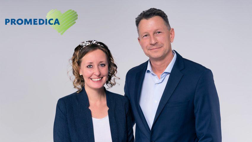 Katharina und Marco Fritsch sind die Inhaber von Promedica Plus.
