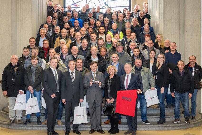 Heitkamp Unternehmensgruppe beteiligt Mitarbeiter am Erfolg.