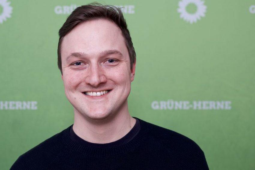 Jacob Liedtke, der Herner Grüne Direktkandidat für den Wahlkreis 141.
