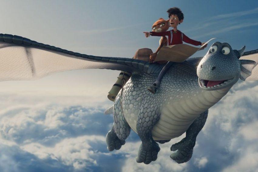 Sky-Roadmovie: Ben und Schwefelfell auf dem Rücken Lungs.