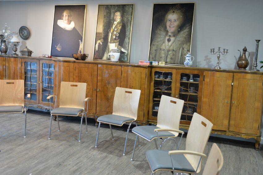 Das Schlosszimmer - Gemeinschaftsraum.