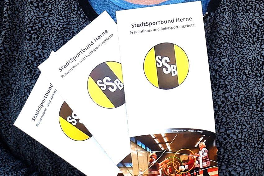Flyer bündelt alle Präventions- und Reha-Sportangebote der Herner Sportvereine.
