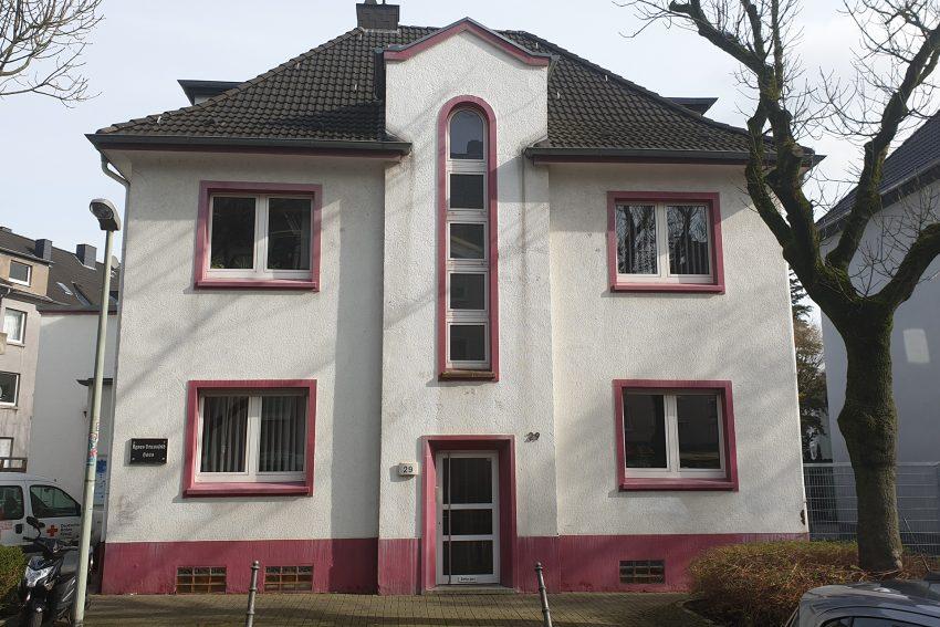 Die DRK Geschäftsstelle an der Harkortstraße.