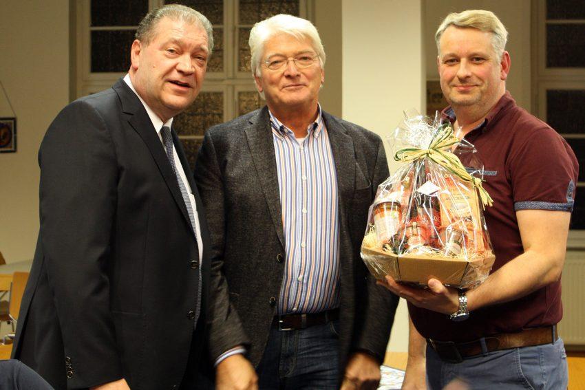 v.l. Martin Klinger, Manfred Hegerfeld, Georg Wilk.