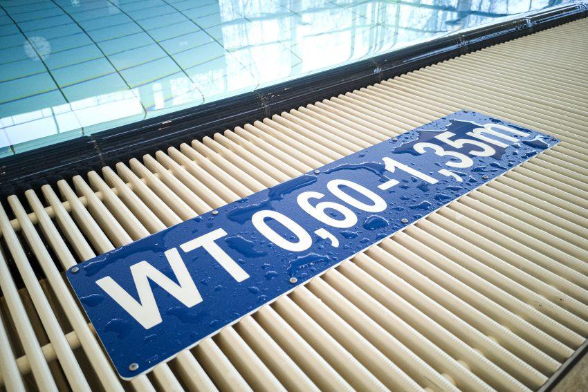 Lehrschwimmbecken im Freizeitbad Wananas in Herne (NW), am Mittwoch (22.01.2020). Foto: Stefan Kuhn
