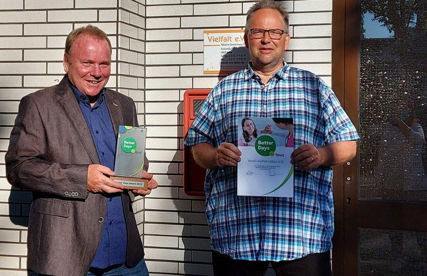li. Der Herner Palliativarzt Anton B. Preissig, Vorsitzender des Vereins Vielfalt e.V.