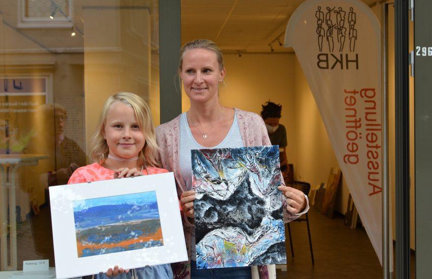 Gewinner der Bilder von Gisela Schulte und Reiner Glebsattel.