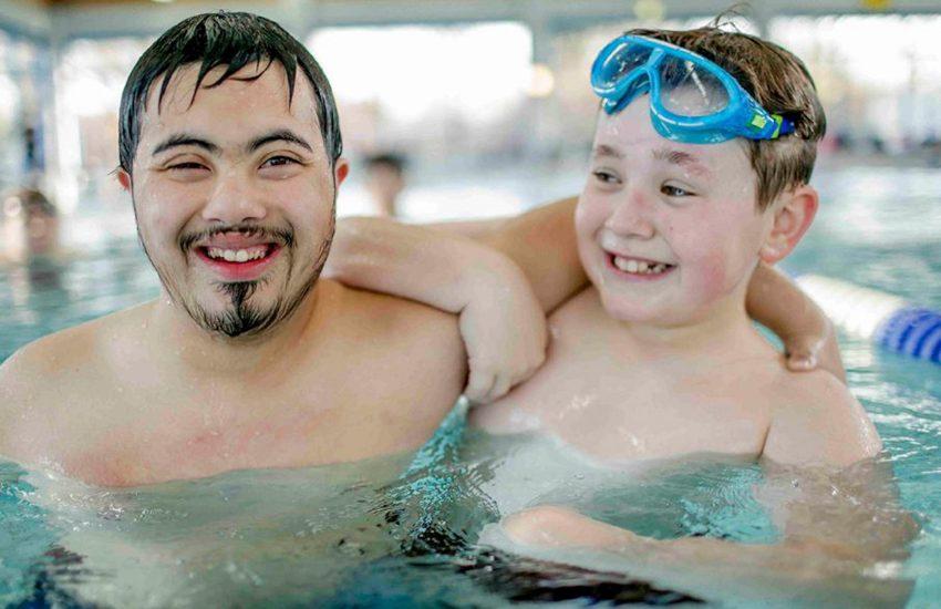 Schwimmgruppe des SC Wiking für Groß und Klein, Menschen mit und ohne Behinderung, Anfänger und Fortgeschrittene.