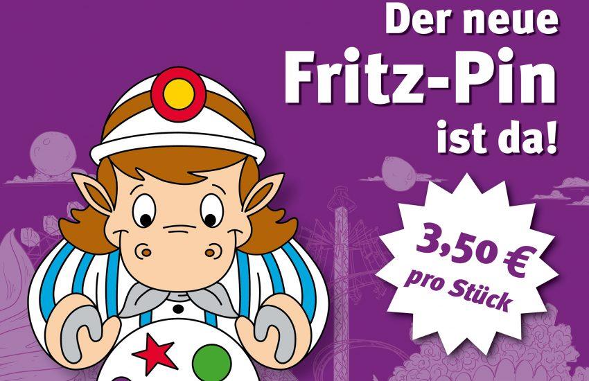 Der neue Fritz-Pin ist da.