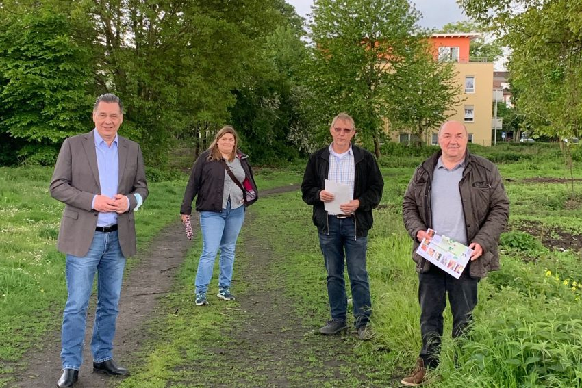 v.l. Udo Sobieski, Tanja Borowski, Heinz-Jürgen Kuhl und Heinrich Schmidt.