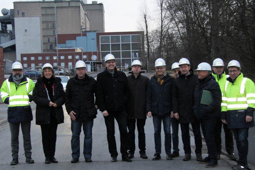 CDU zu Besuch auf dem STEAG-Gelände.
