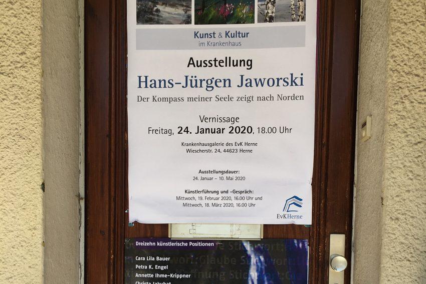 Ausstellungsplakate von Hans-Jürgen Jaworski.