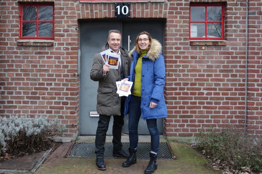 Holger Wennrich, Geschäftsführer der Stadtmarketing Herne und Astrid Jordan, Projektleiterin bei der Stadtmarketing Herne.