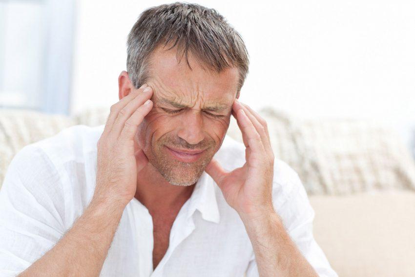 Migräne betrifft auch Männer.