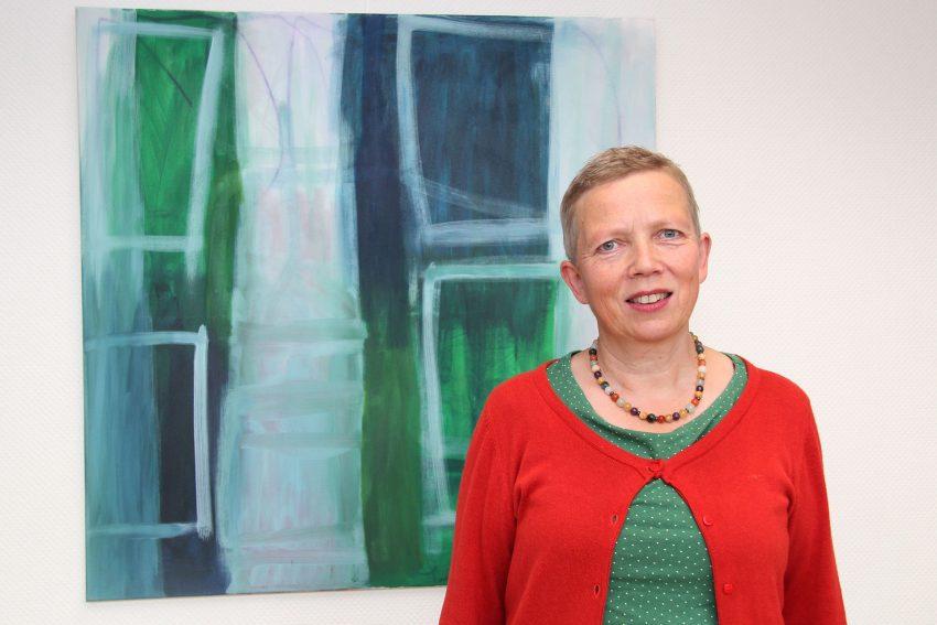 Gisela Schulte im EvK.