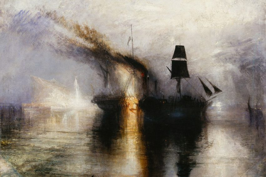 Burial at Sea von William Turner (1775-1851).