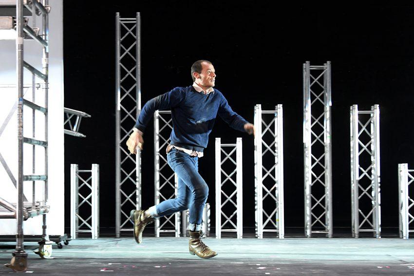 Gehetzt: Mario Thomanek als Piero Manzano.