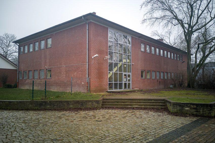 Lehrschwimm- und Turnhalle an der Kolibri-Schule am Hölkeskampring in Herne (NW), am Mittwoch (22.01.2020).