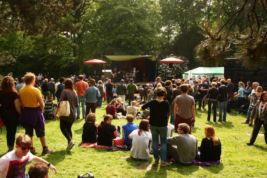 Eröffnung der Ruhrfestspiele am ersten Mai am Ruhrfestspielhaus Recklinghausen.