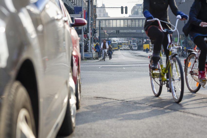 Radfahren in der Stadt - nicht immer einfach.