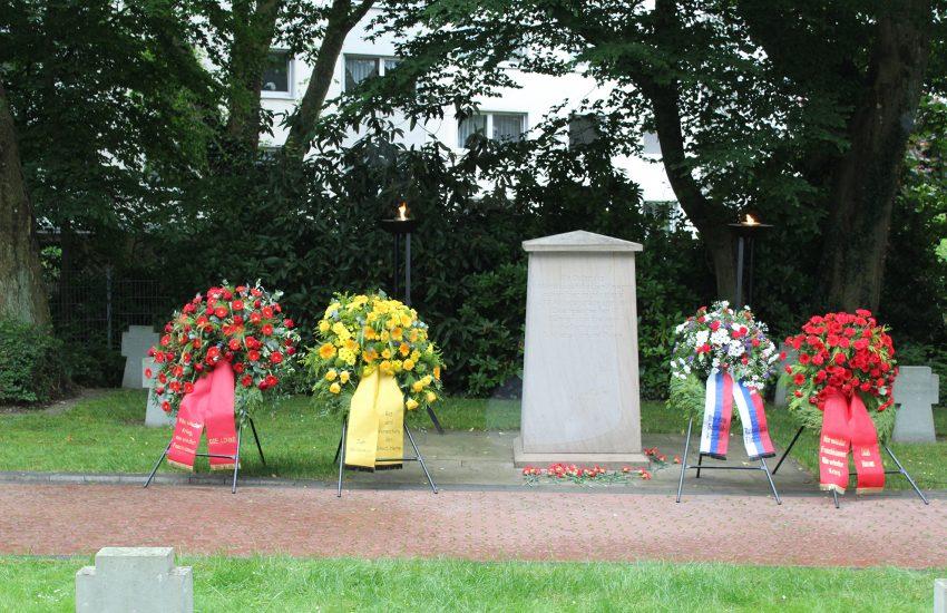 Zum 80. Jahrestag gab es eine Mahn-und Gedenkveranstaltung.