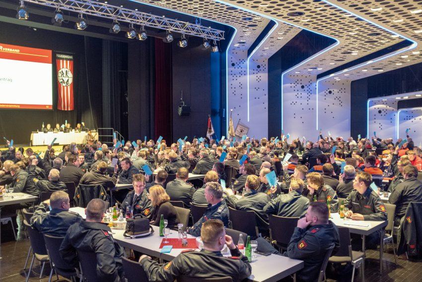 26. ordentliche Mitgliederversammlung mit Jubiläum zum 25-jährigen Bestehen des Stadtfeuerwehrverbands Herne und Jahreshauptversammlung der Feuerwehr Herne (NW), am Freitagabend (01.02.2019), im Kulturzentrum in Herne (NW).