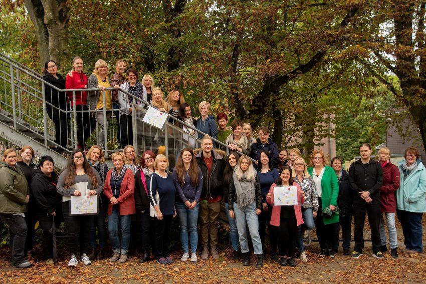 Familienzentrum Röhlinghausen feiert im November 2019 die Re-Zertifizierung.