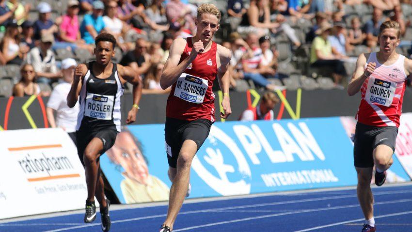 Sprinter Manuel Sanders studiert an der FH Dortmund im Fachbereich Wirtschaft und tritt jetzt bei den Olympischen Spielen in Tokio in der 4 x 400 Meter Staffel an.