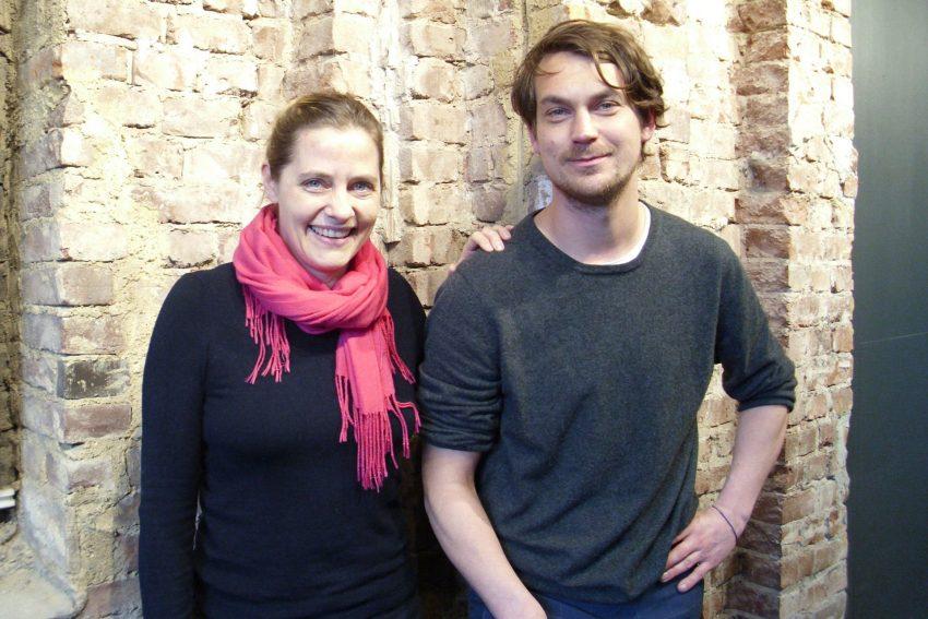 Spiel ohne Abstand: Jennifer Ewert und Till Beckmann sind auch privat ein Paar.