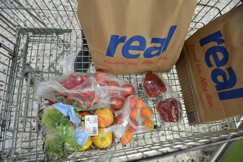 Eine Portion Obst und Gemüse vor der Tonne gerettet..