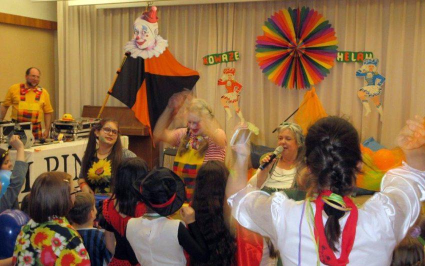 Karneval im Pfarrzentrum St. Laurentius.