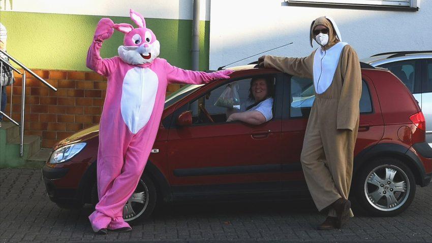 Osterüberraschung mit Drive-In vom BSV Holthausen.