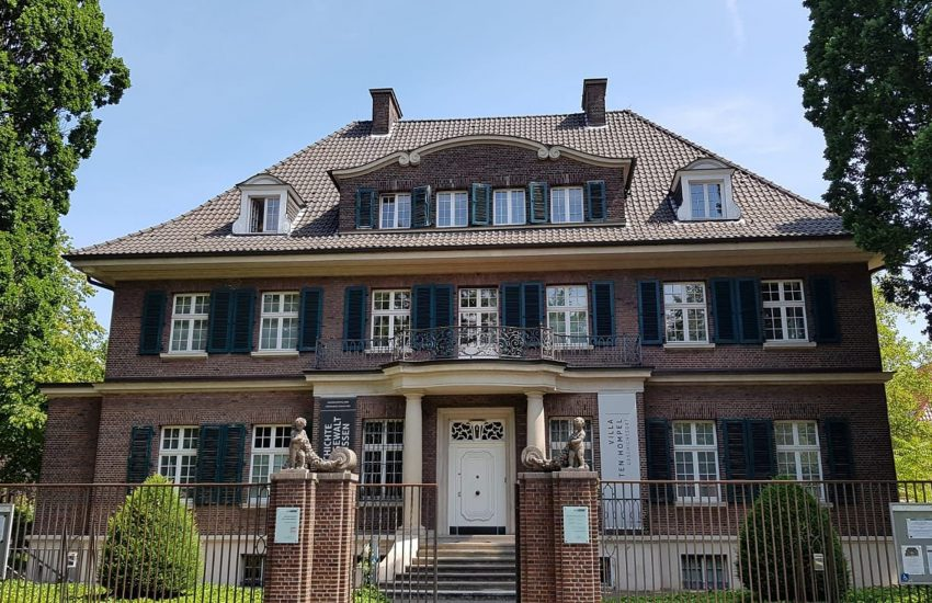 Die Villa ten Hompel in Münster.
