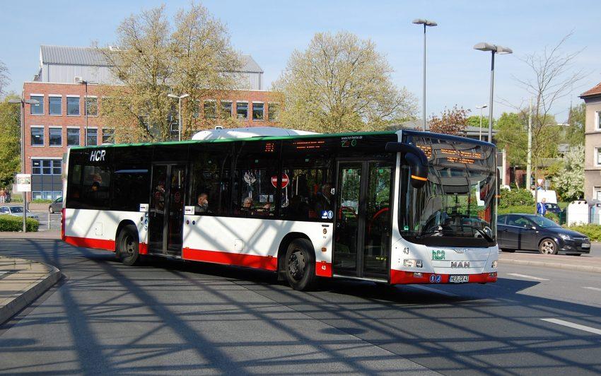 Neue Buslinien bei der HCR.