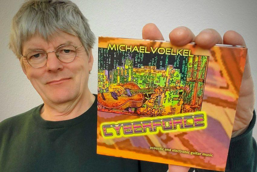 Michael Völkel stellt mit 'Cyberforce' seine 7. CD vor.