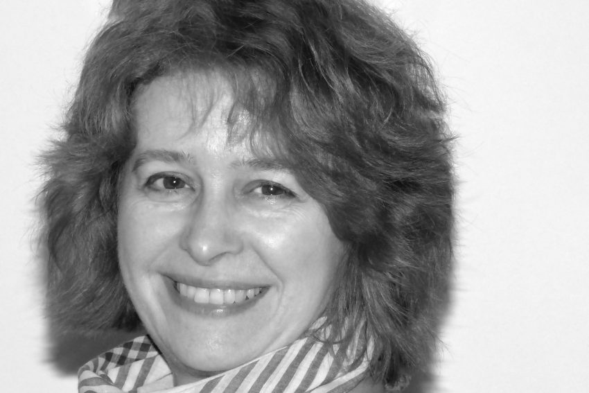 Anette Pehrson - Leiterin der ID55-Schreibwerkstatt.