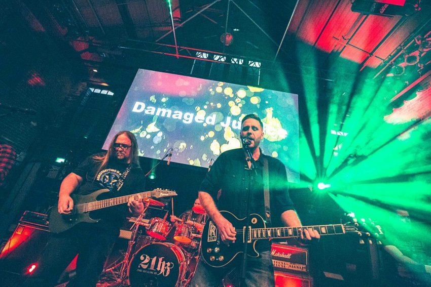 Damaged Justice - Bandfusion Royal in den Flottmannhallen. 25.1.2020