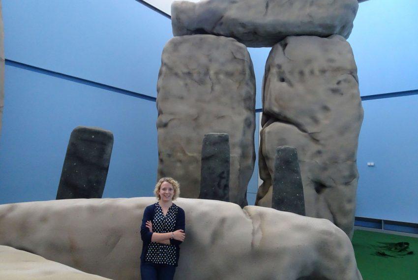 Tabea Malter ist wissenschaftliche Volontärin beim Ausstellungsprojekt 'Stonehenge - Von Menschen und Landschaften'.