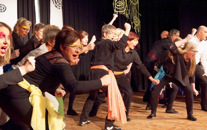 Das Chormusiktheater Soli d'Arte gibt Gastspiel in den Flottmannhallen.