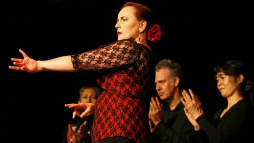 Antínea, die Flamenco-Show.