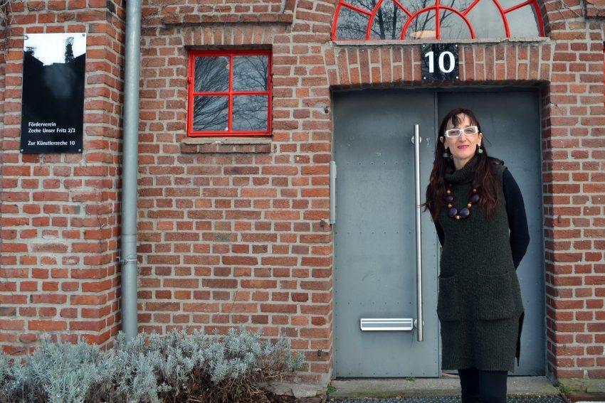 Irena Paskali stellt auf Unser Fritz aus.