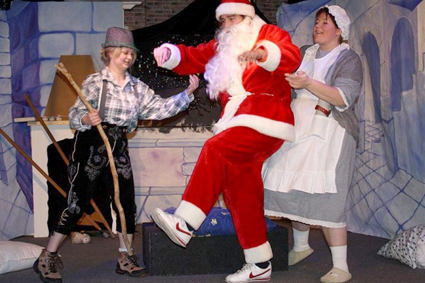 Vertretung für den Weihnachtsmann gesucht ...